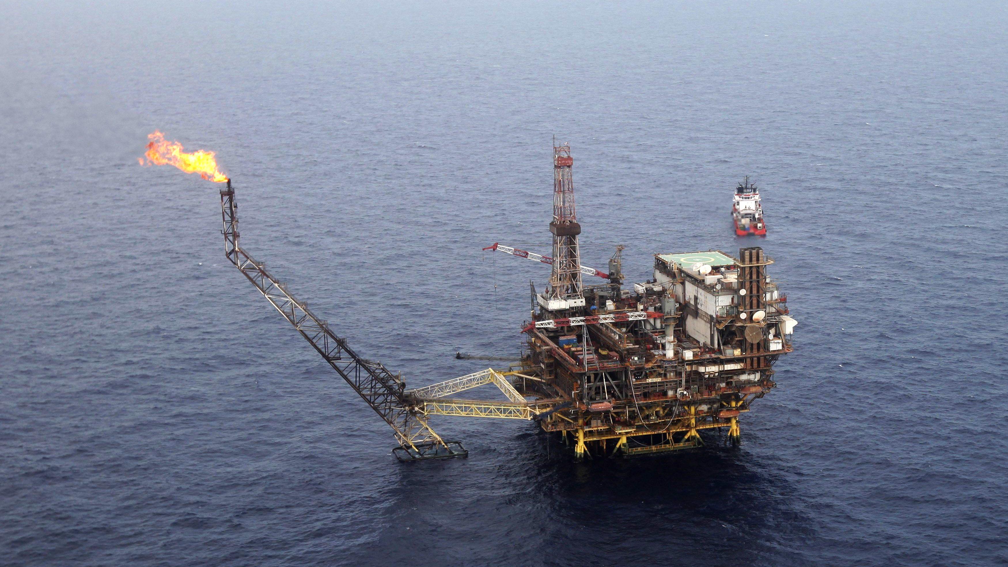 Eni oil field in Libya