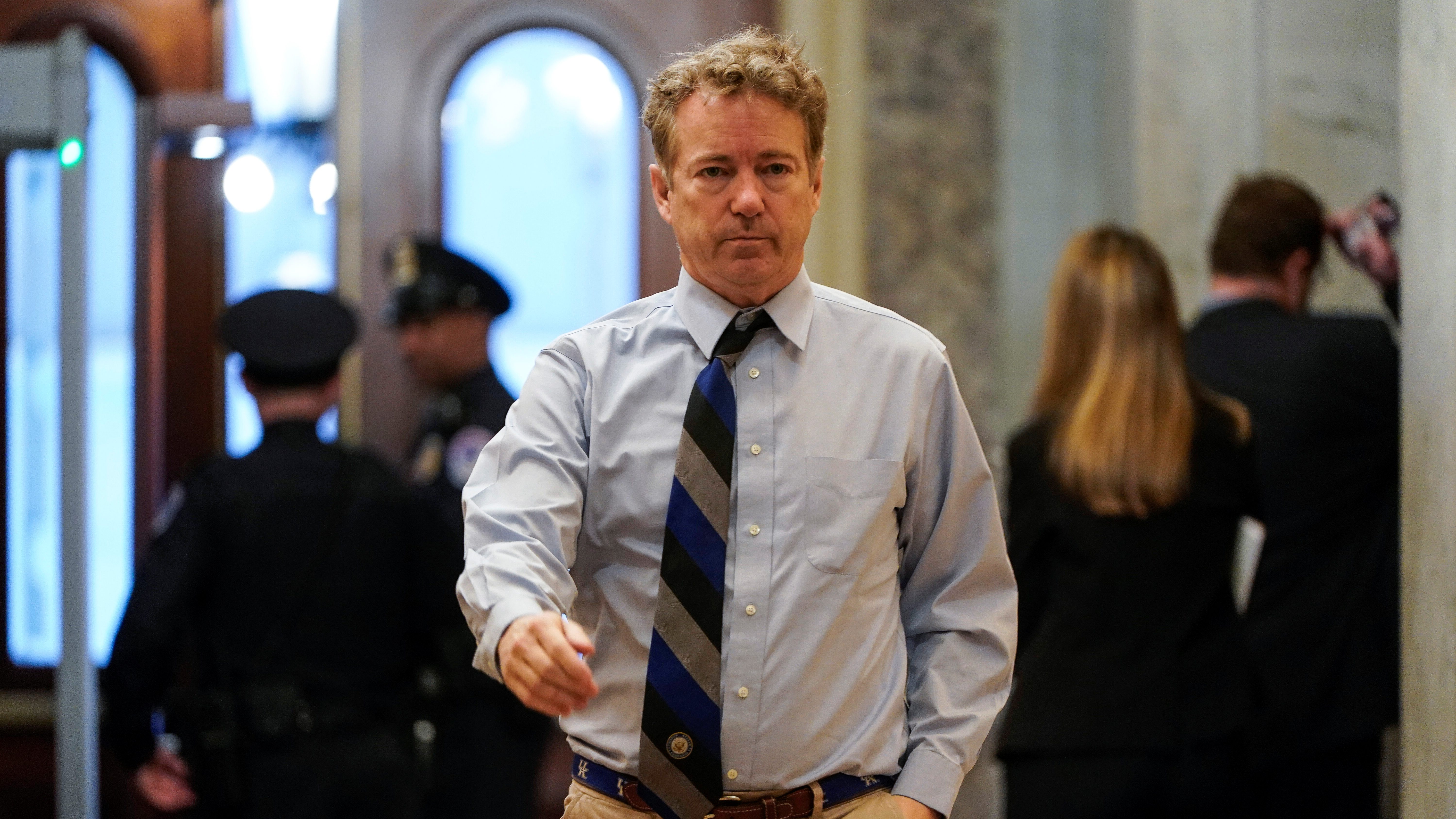 Rand Paul has tested positive for Covid-19.