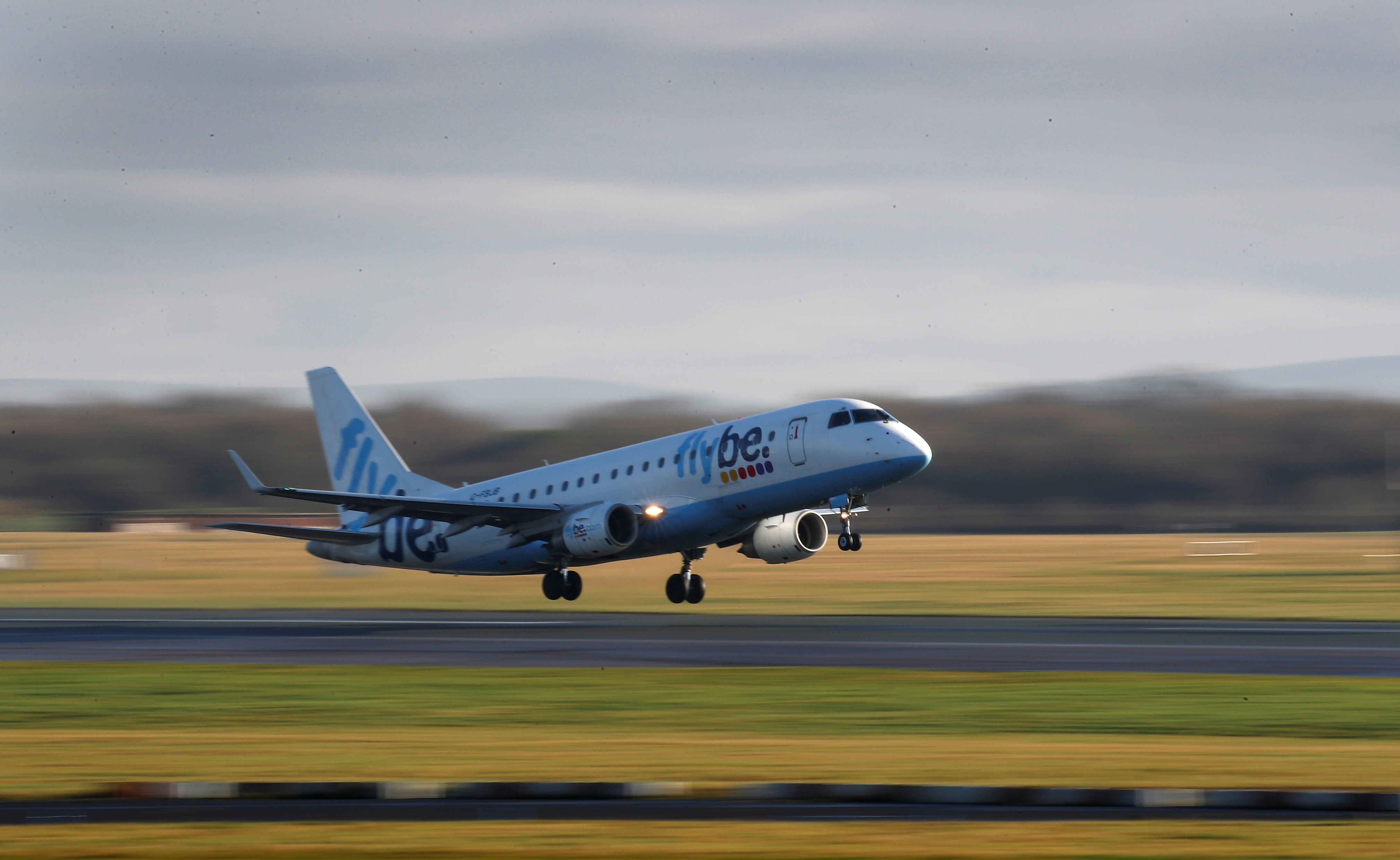 Flybe is among the airlines hurt by coronavirus.