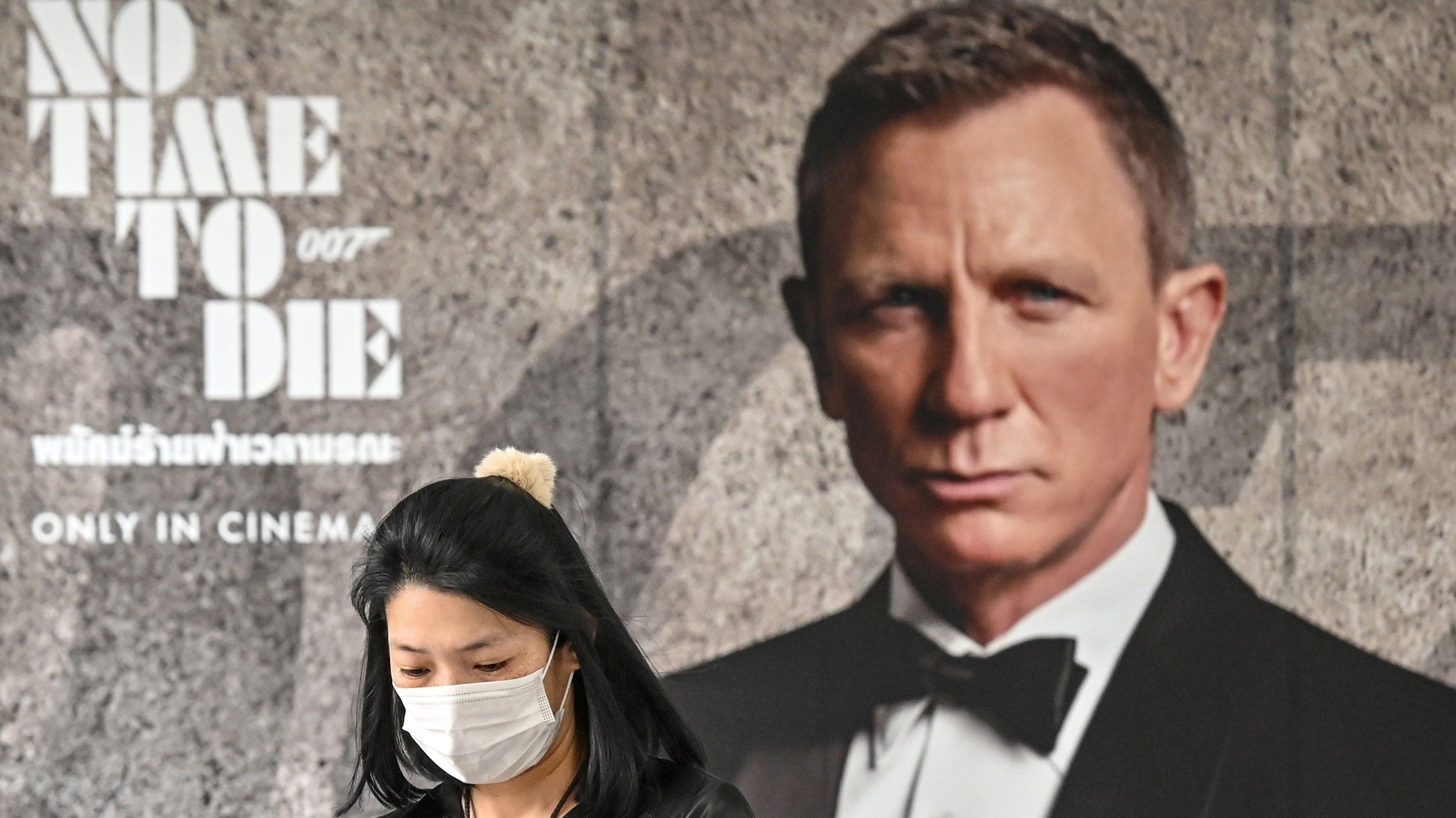 james bond no time to die coronavirus mask