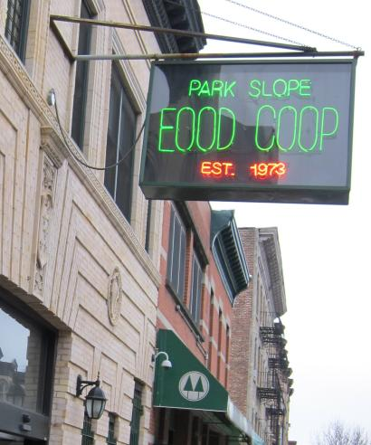The Park Slope Food Coop in Brooklyn, New York.