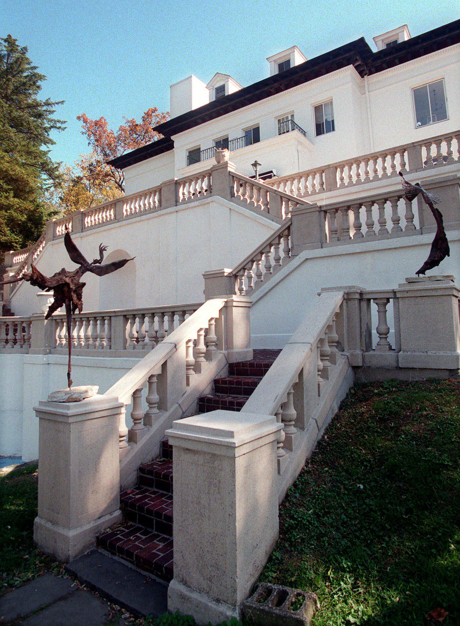 Villa Lewaro, uma mansão secular em estilo italiano que foi o lar de Madame C.J. Walker, uma empresária negra considerada a primeira milionária self-made do país, em Irvington, Nova York.
