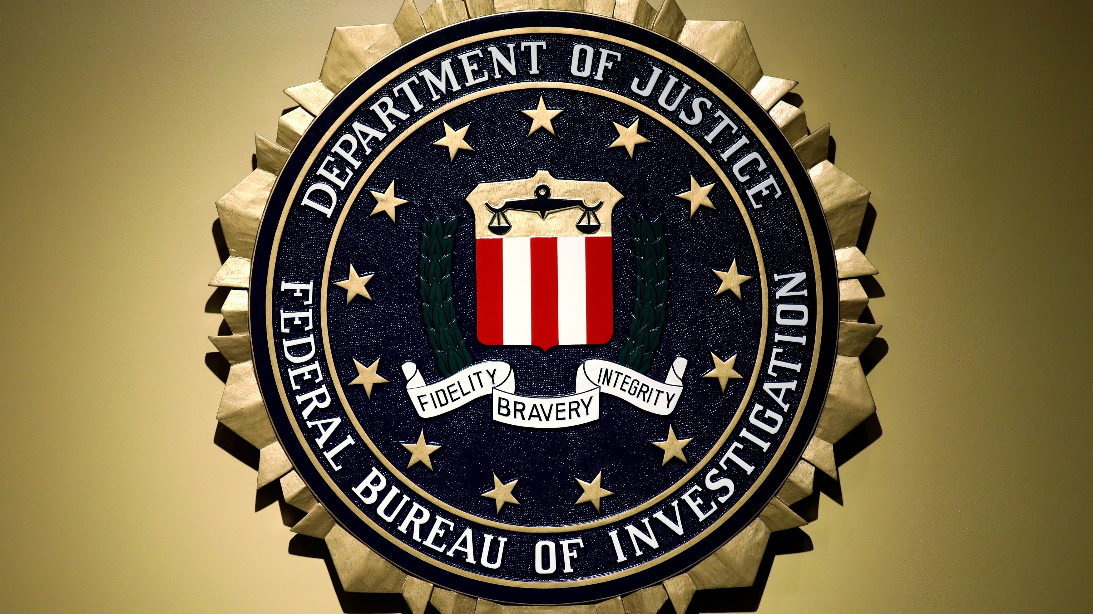 The Federal Bureau of Investigation seal