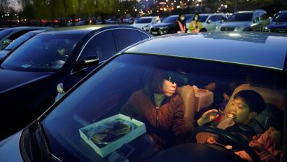 drive-in movies perfect in pandemic