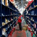 A BigBasket warehouse