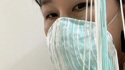 'Breathing Tool', an artistic take of face mask by artist Yuk King Tan.