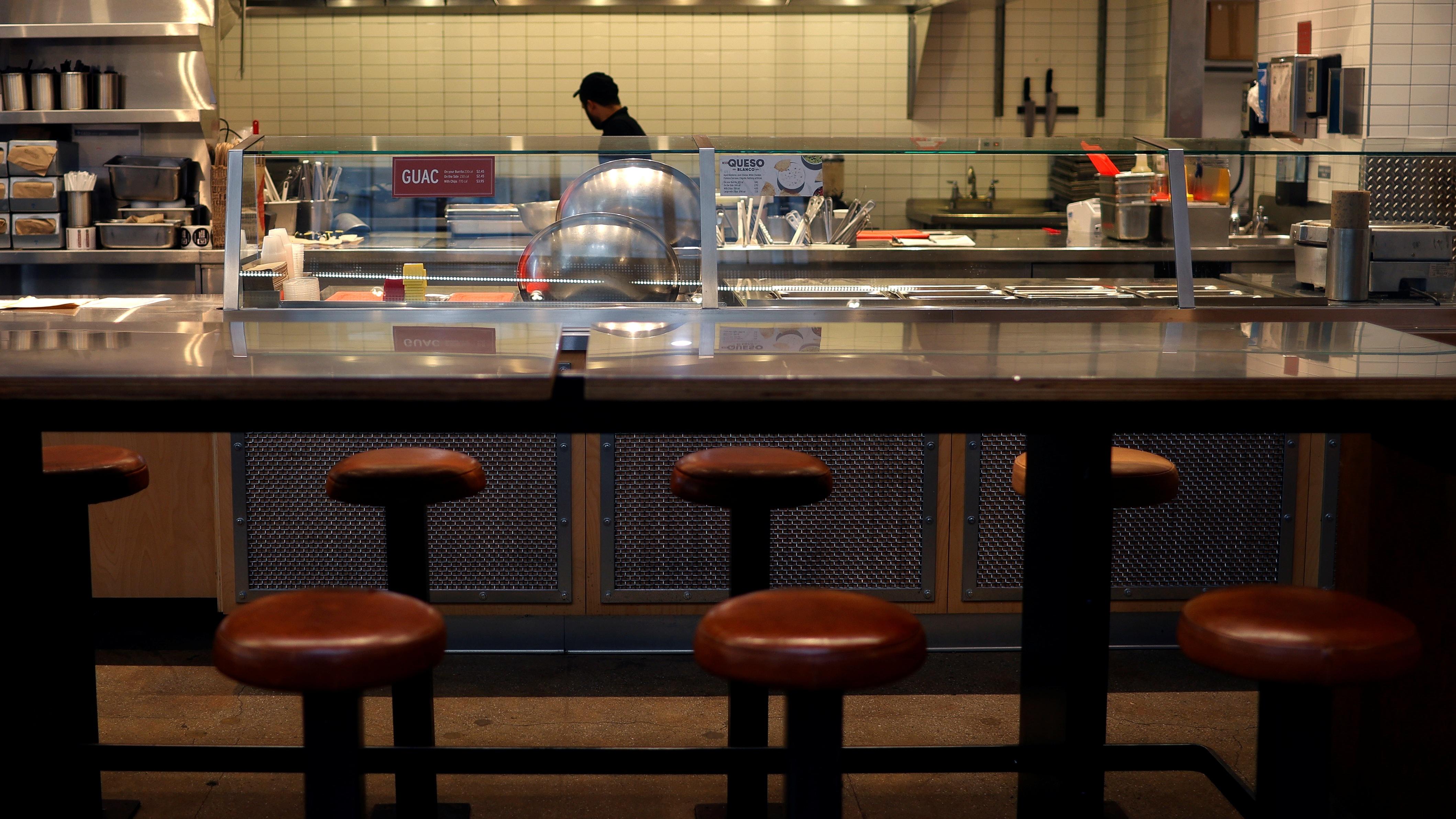 Coronavirus job losses at bars and restaurants