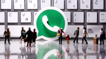 3D printed Whatsapp logo