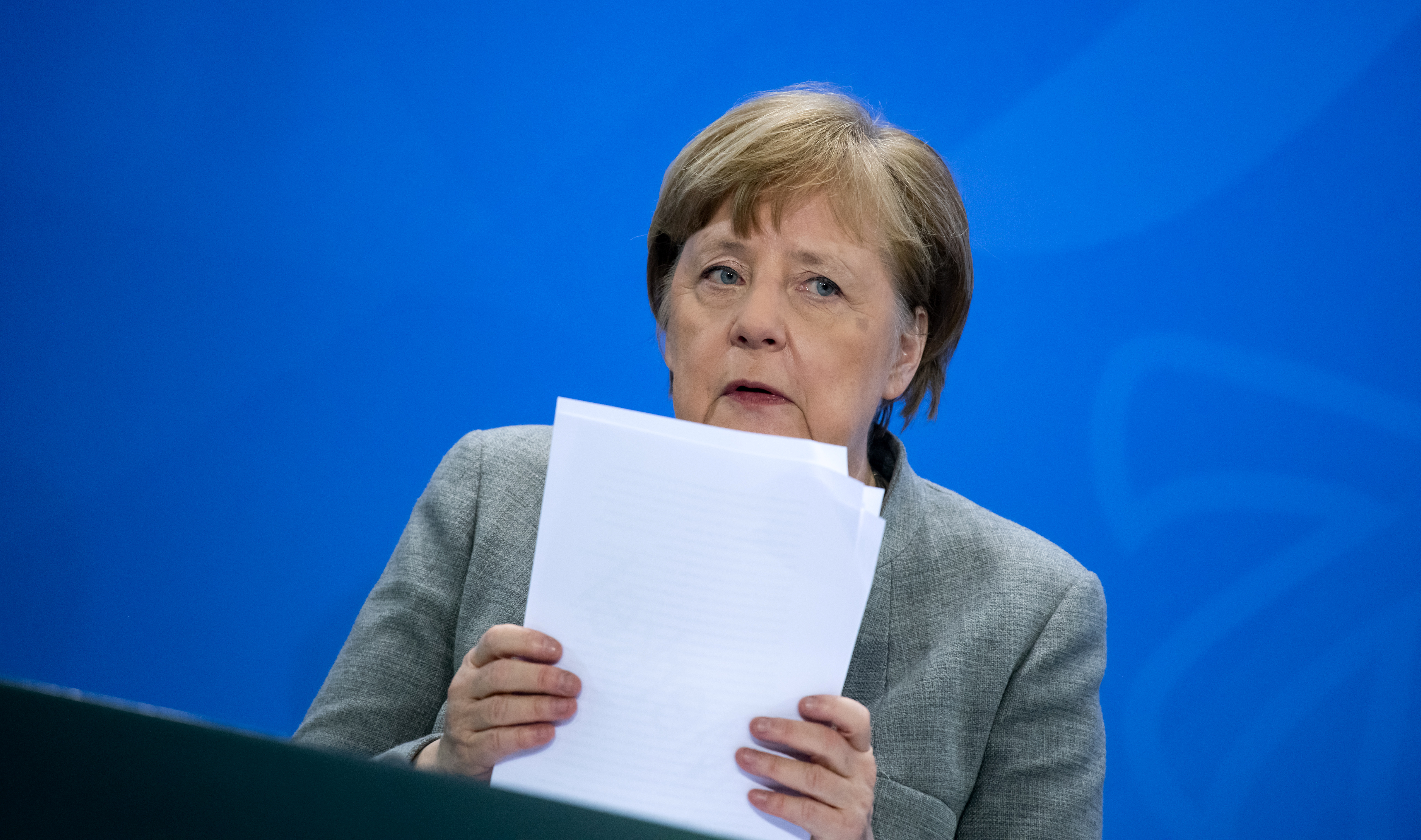 Angela Merkel Explains How Coronavirus Transmission Works Quartz