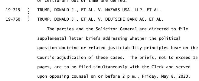 Order in Mazars USA.