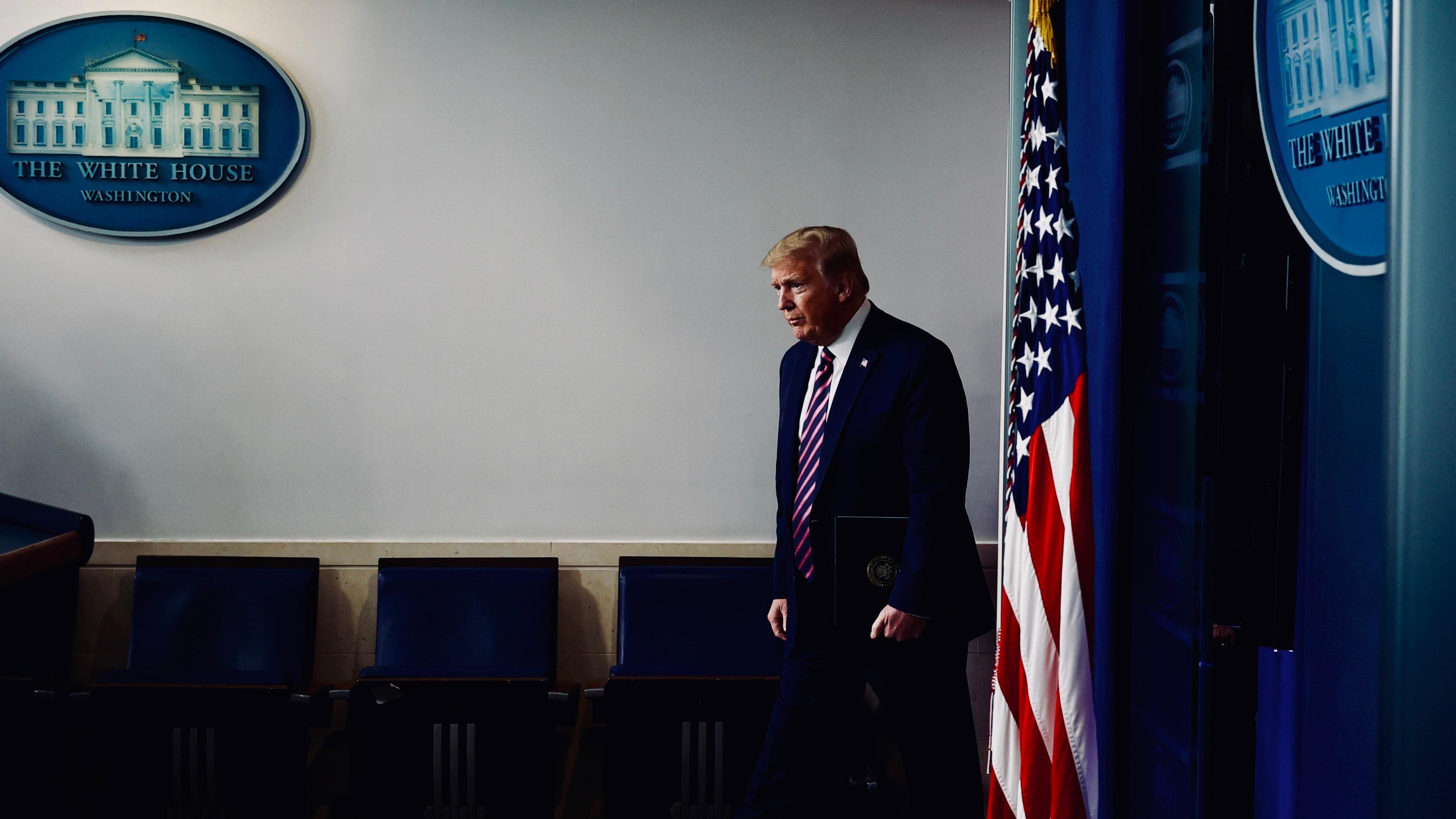 Donald Trump pn April 24.