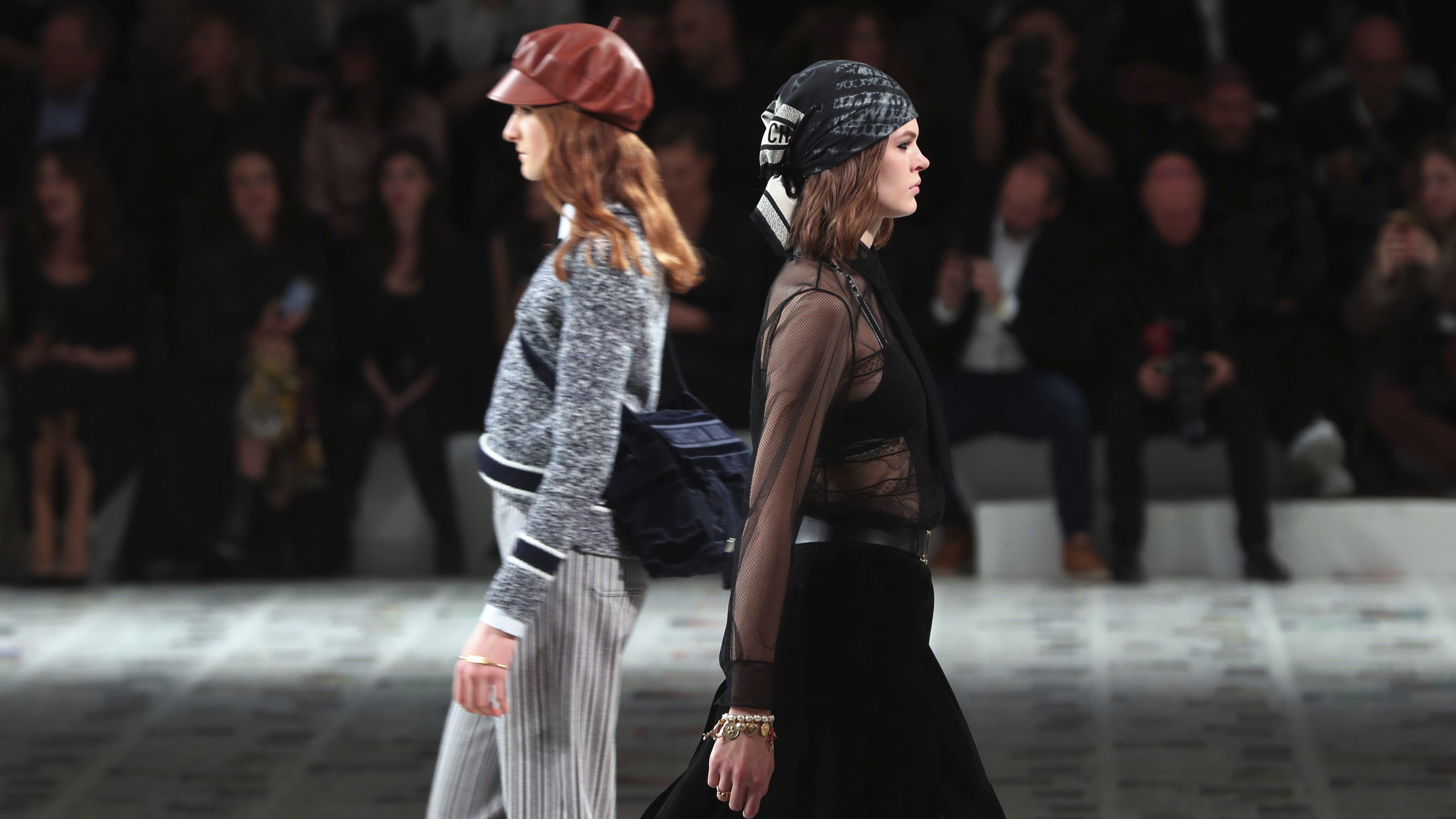 Despite Coronavirus Paris Fashion Week Is Happening Quartz