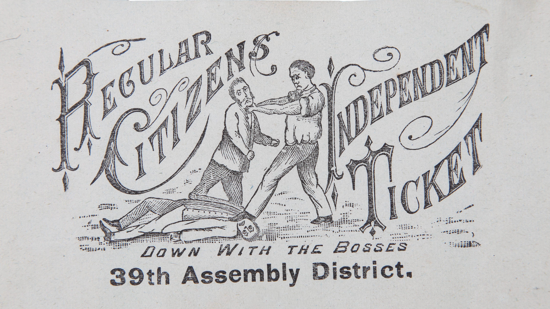 A 19th century ticket illustration