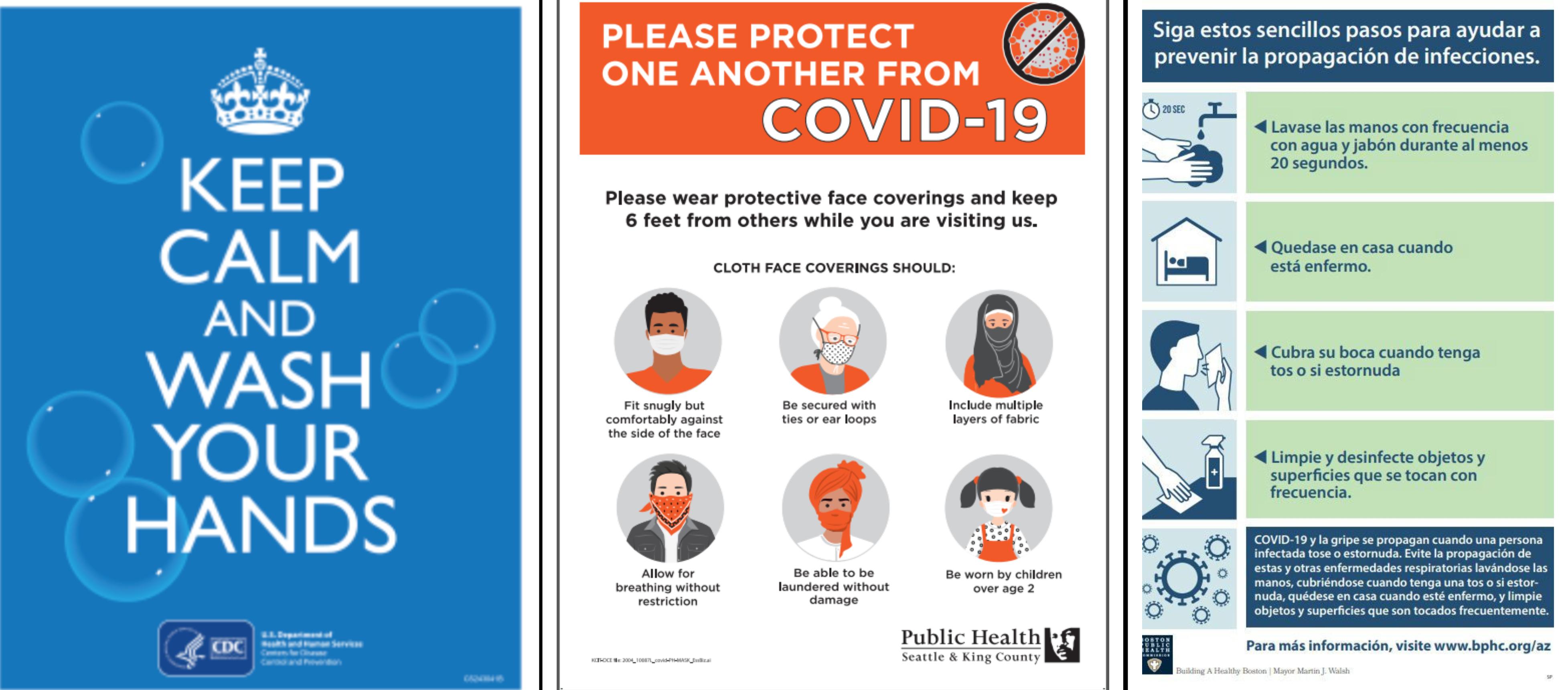 What Effective Coronavirus Signs Look