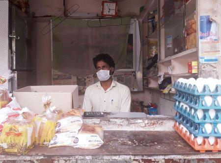 Vikas Kumar's snack supply chain has been hit because of the reverse migration.