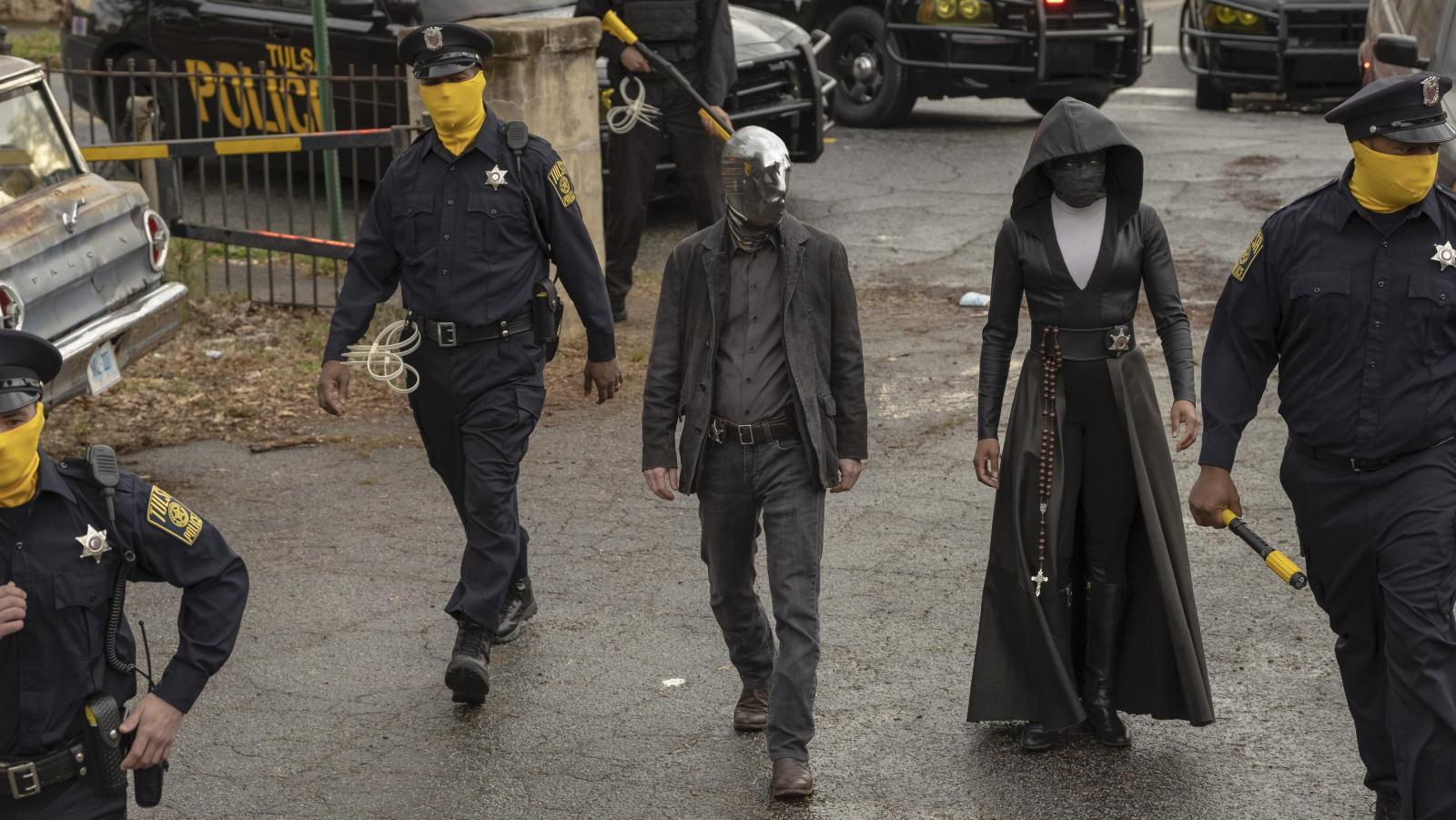 Regina King as Sister Night in HBO's Watchmen