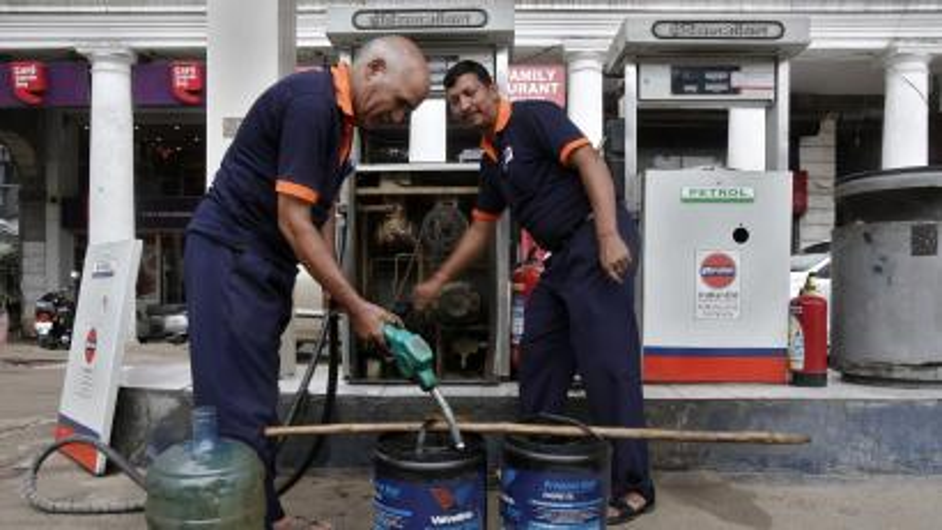 Petrol-Diesel-Brent crude oil