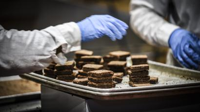 The Greyston Bakery recruits its bakers through open hiring, and creates the brownies used in Ben & Jerry's ice cream.