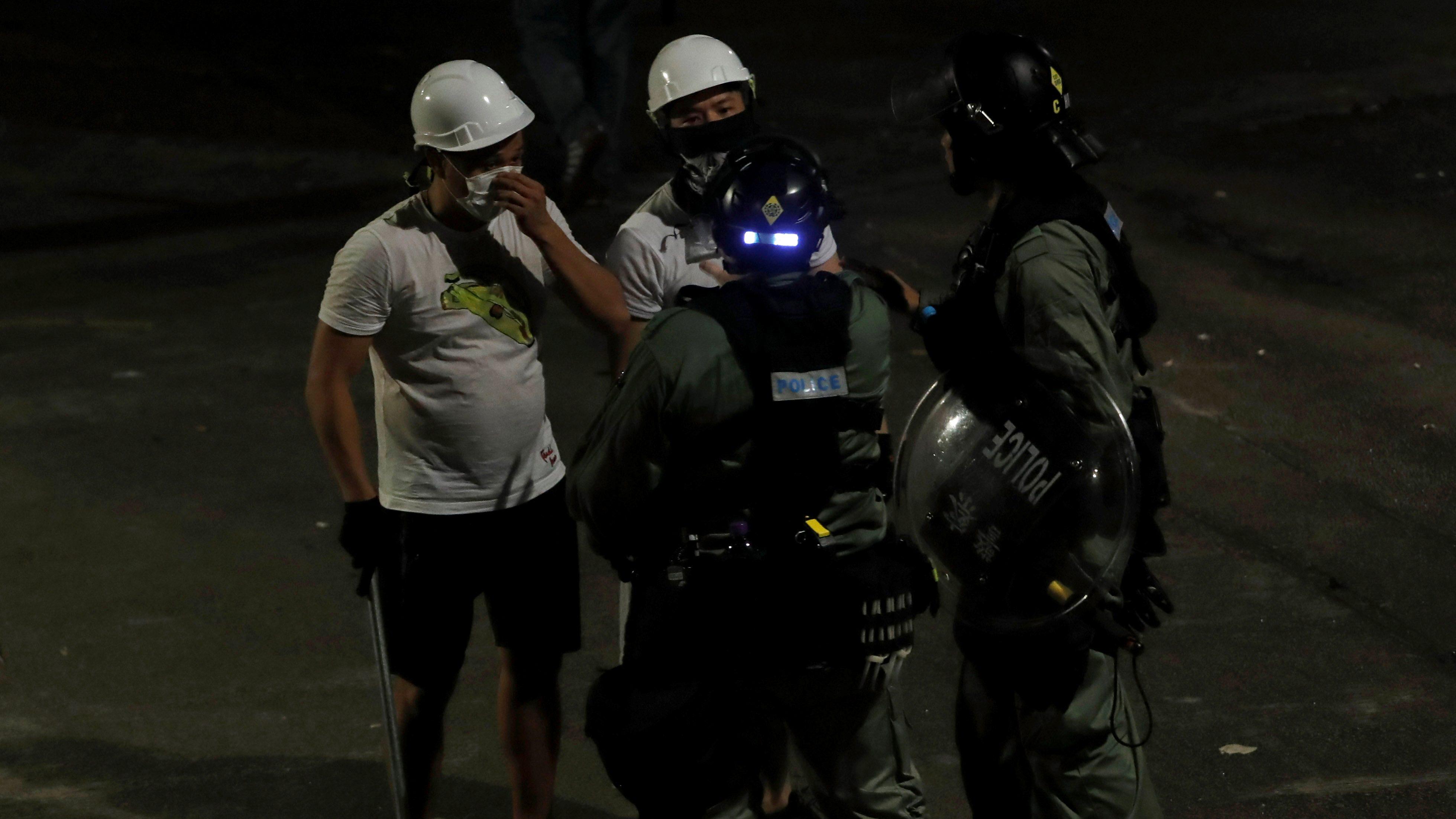 Yuen Long attack, Hong Kong police, July 21, 2020