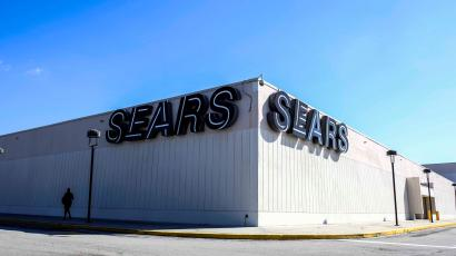 A Sears store is pictured during Black Friday sales in Cutler Bay, Florida