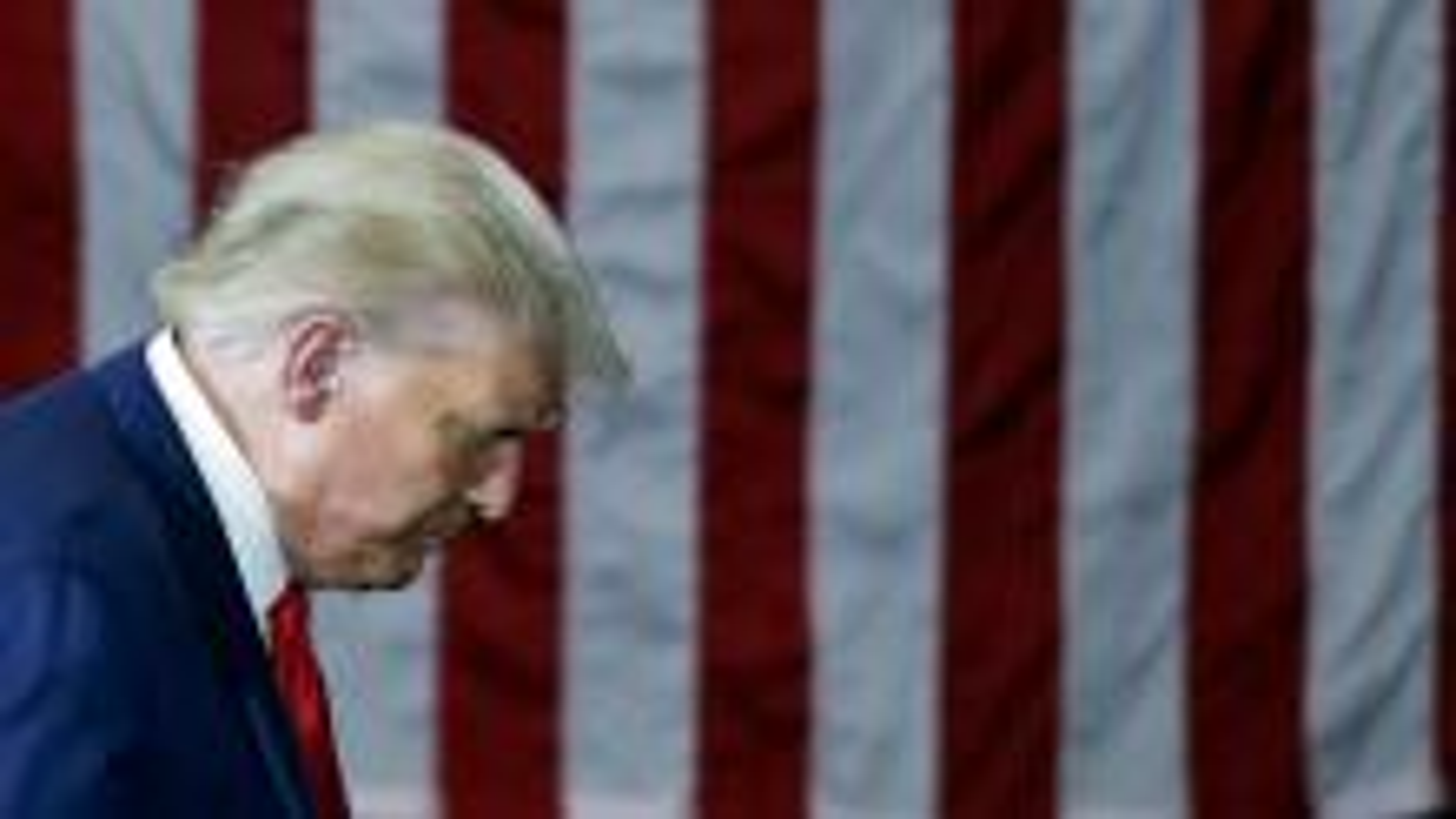 Donald Trump speaking in Ohio.
