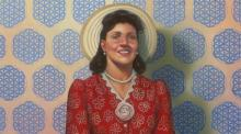 The full portrait of Henrietta Lacks in the National Portrait Gallery.