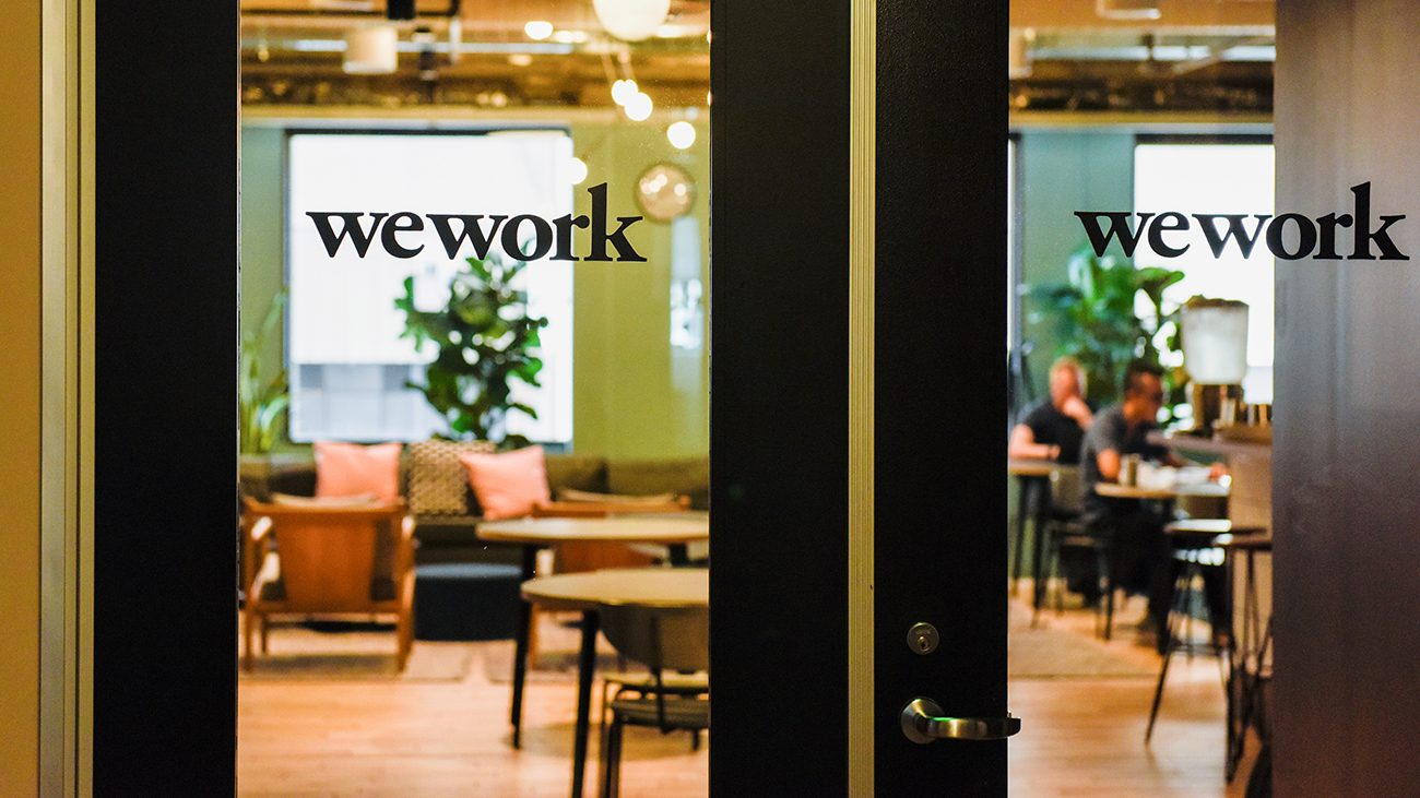 WeWork office in San Francisco.