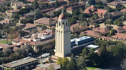 The Hoover Tower on Stanford's campus