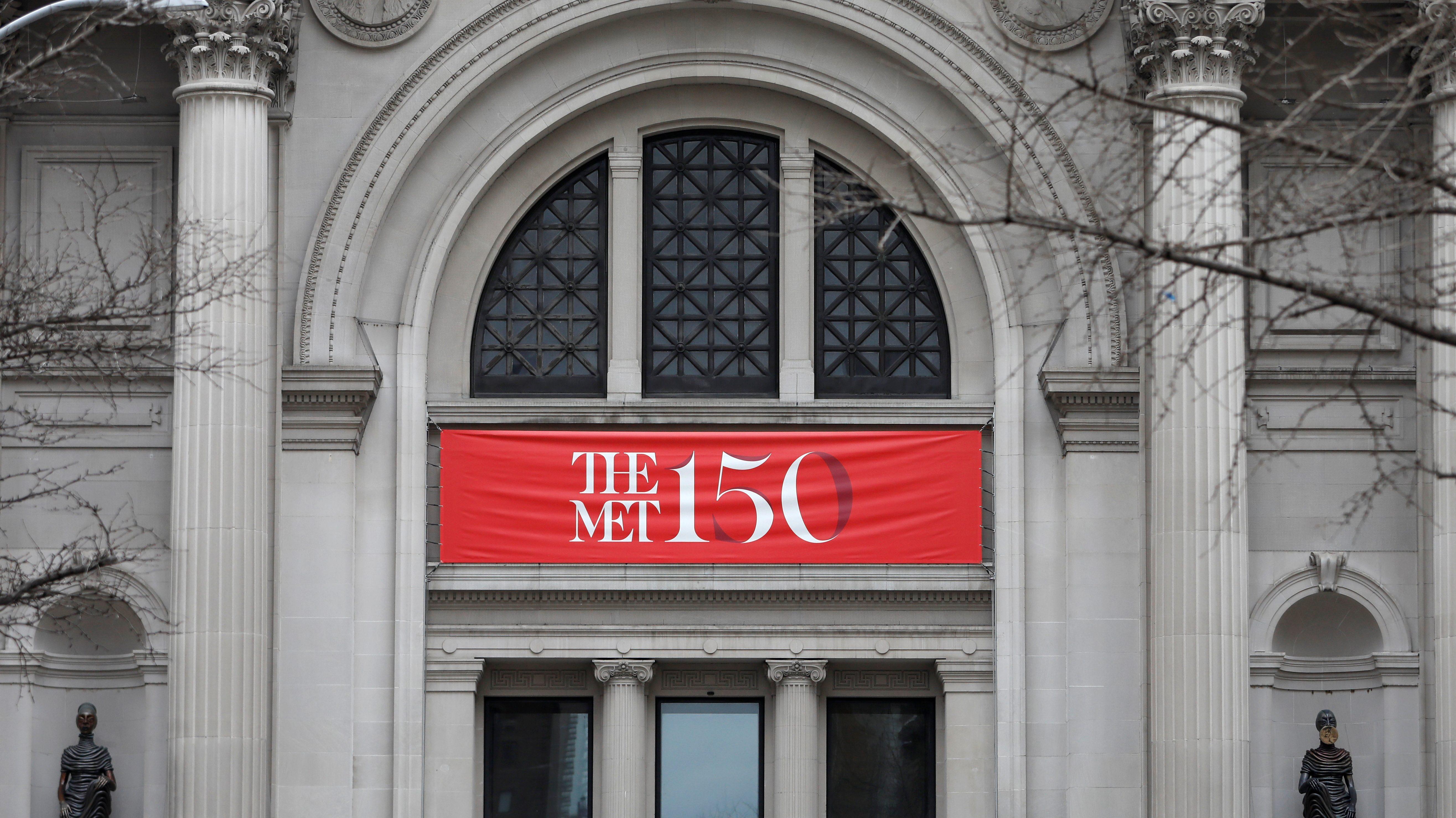 Lead image: Met Museum facade