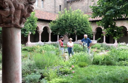 The Cloisters' gardeners.