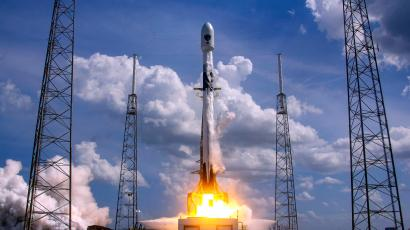 SpaceX launches a GPS satellite for the US government in 2020.