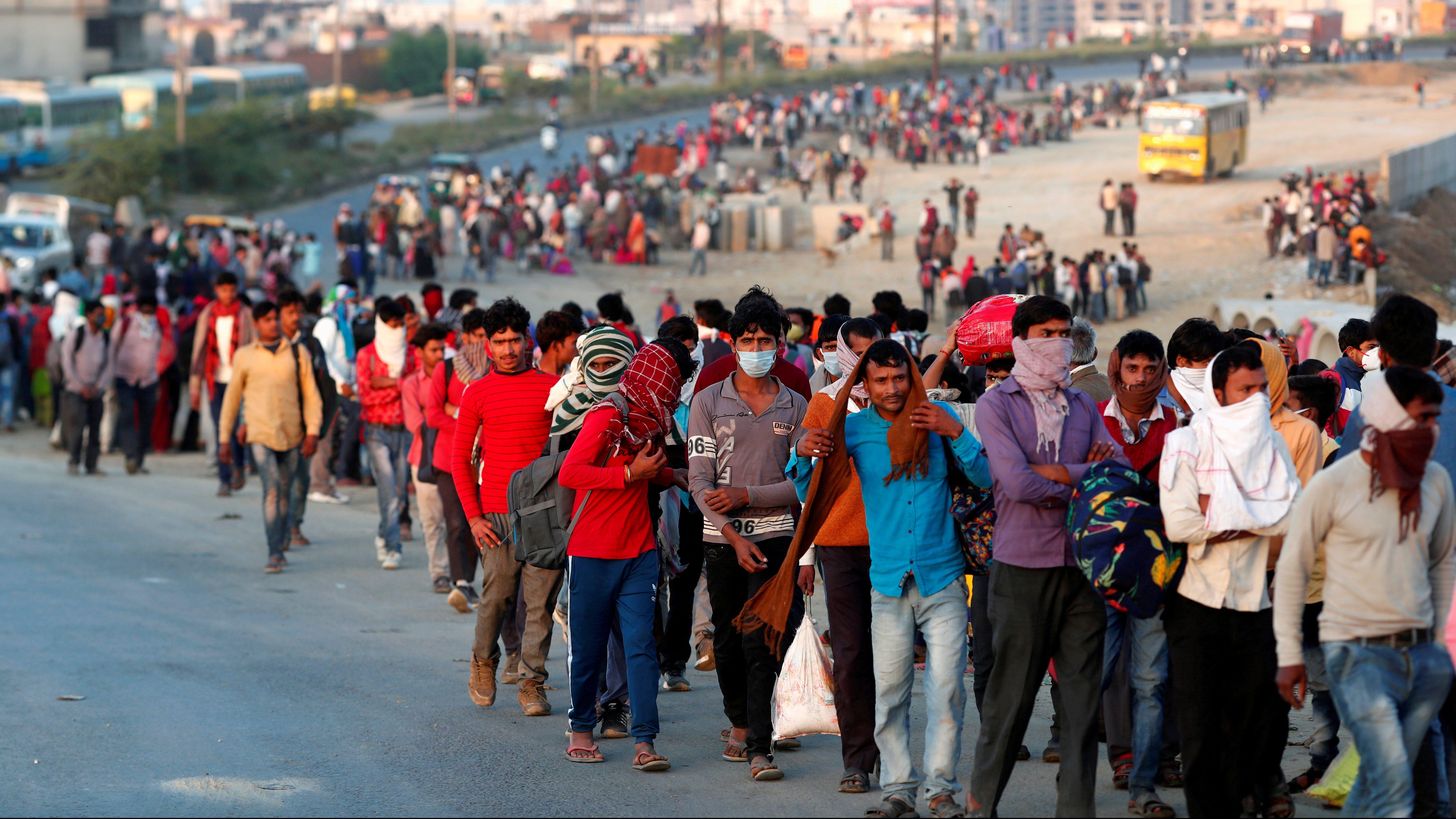Modi government says it has no data on Covid-19 migrant job loss — Quartz  India
