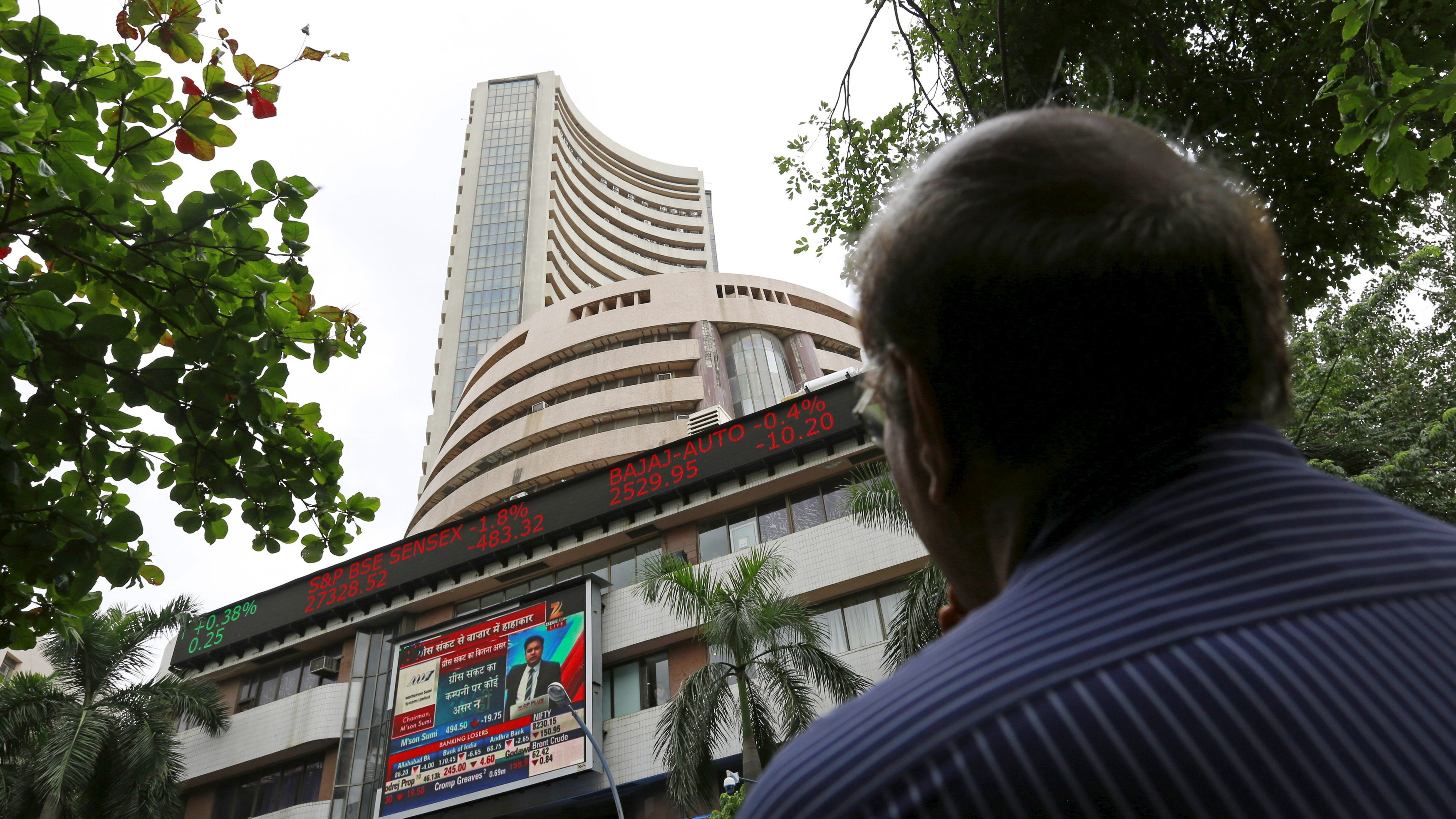 Indian stock markets-BSE-US elections