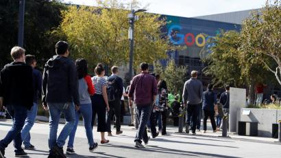 "A ""Women's Walkout"" at Google in protest over payout to Android chief Andy Rubin"