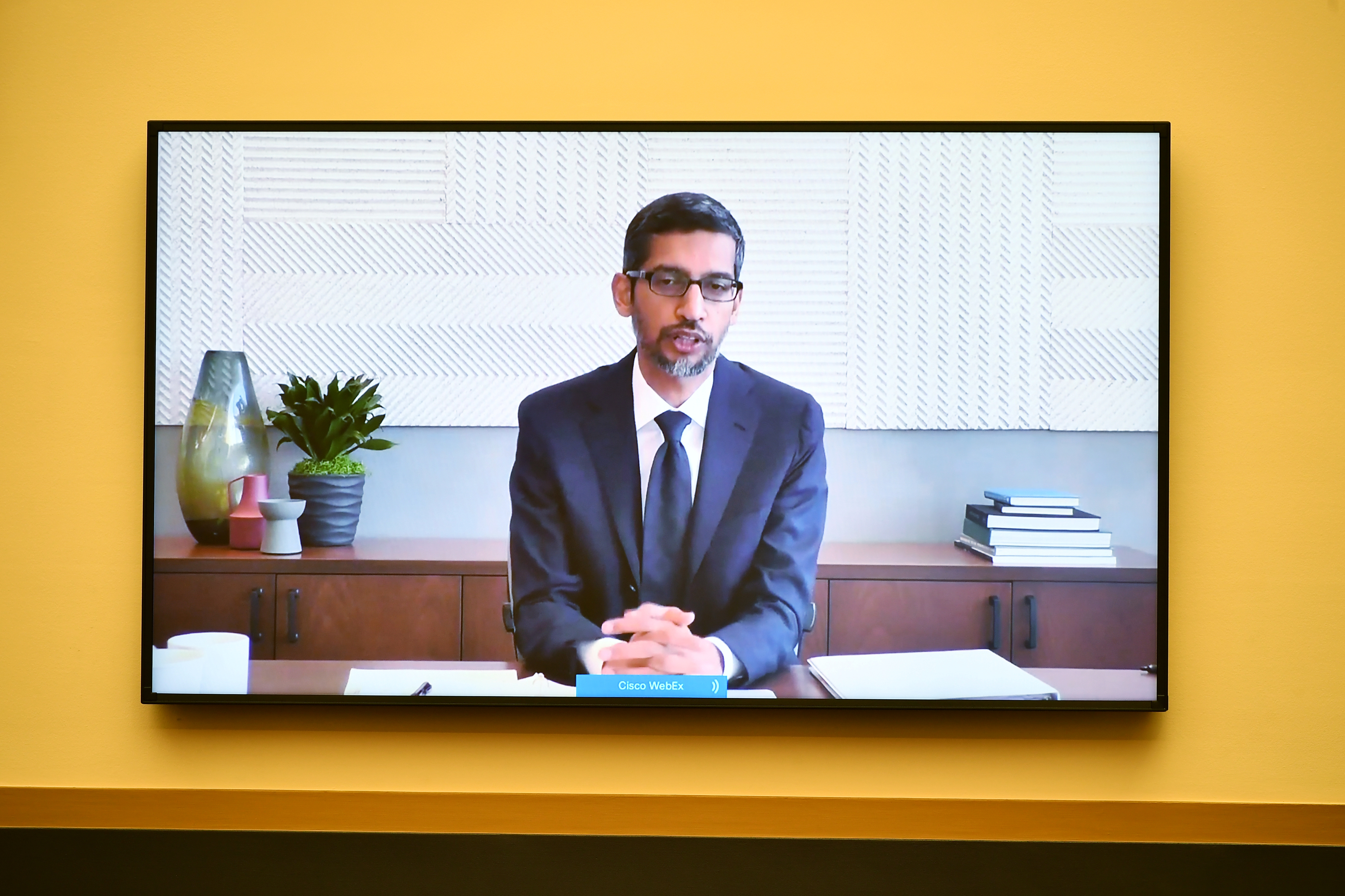 Google CEO Sundar Pichai testifies before the House Judiciary Subcommittee on Antitrust, Commercial and Administrative Law.