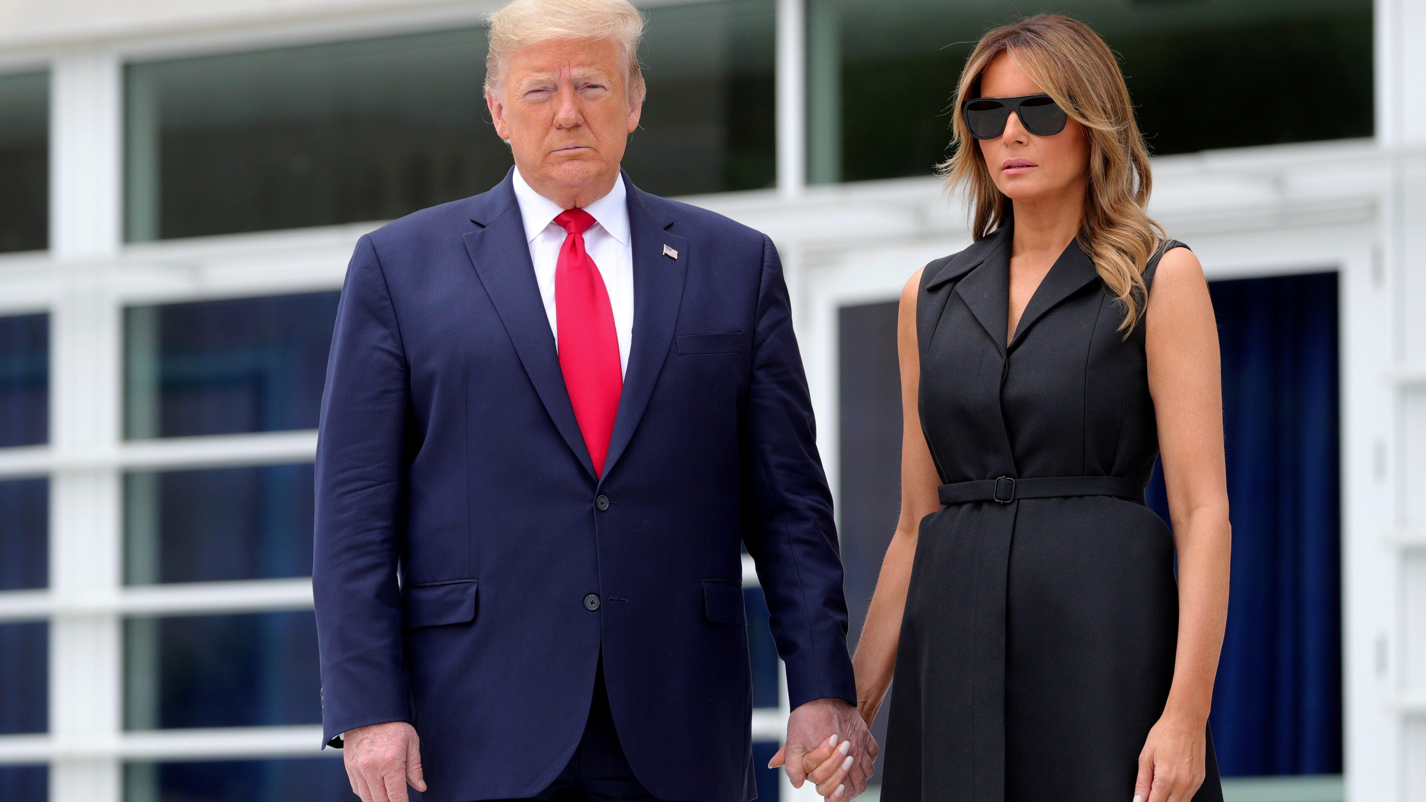 Trump and Melanie
