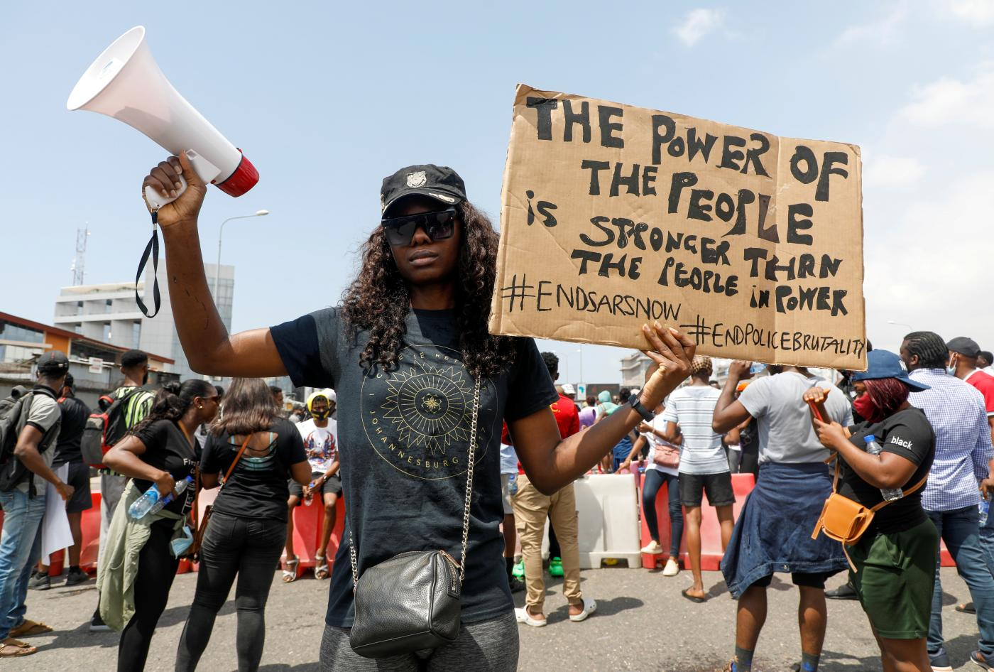Image of article 'These photos show how young Nigerians organized one of the country's biggest protests'