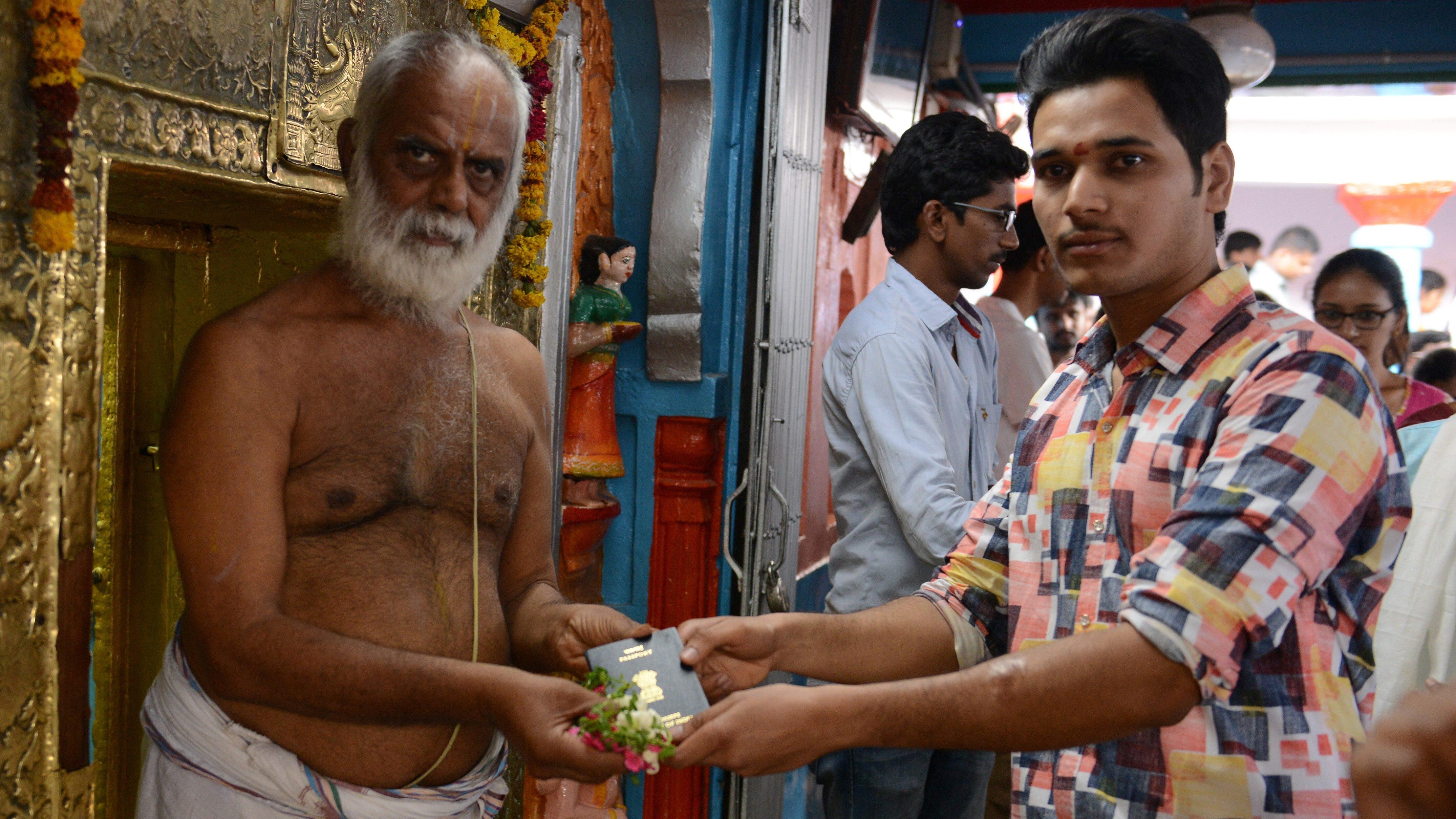 INDIA-RELIGION-HINDUISM-VISA