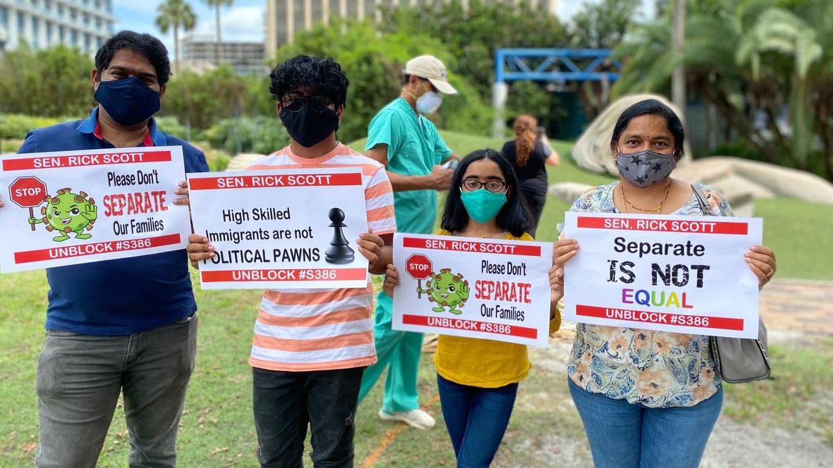 Green card backlog for Indians