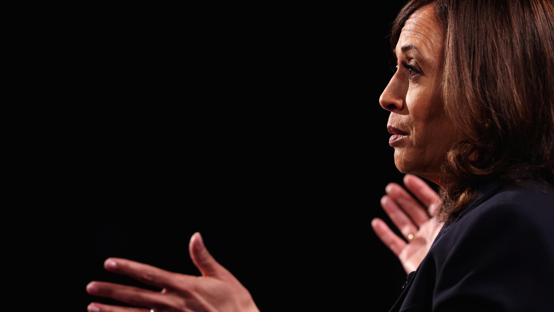 Kamala Harris at debate