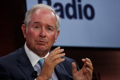 Blackstone CEO Stephen Schwarzman.