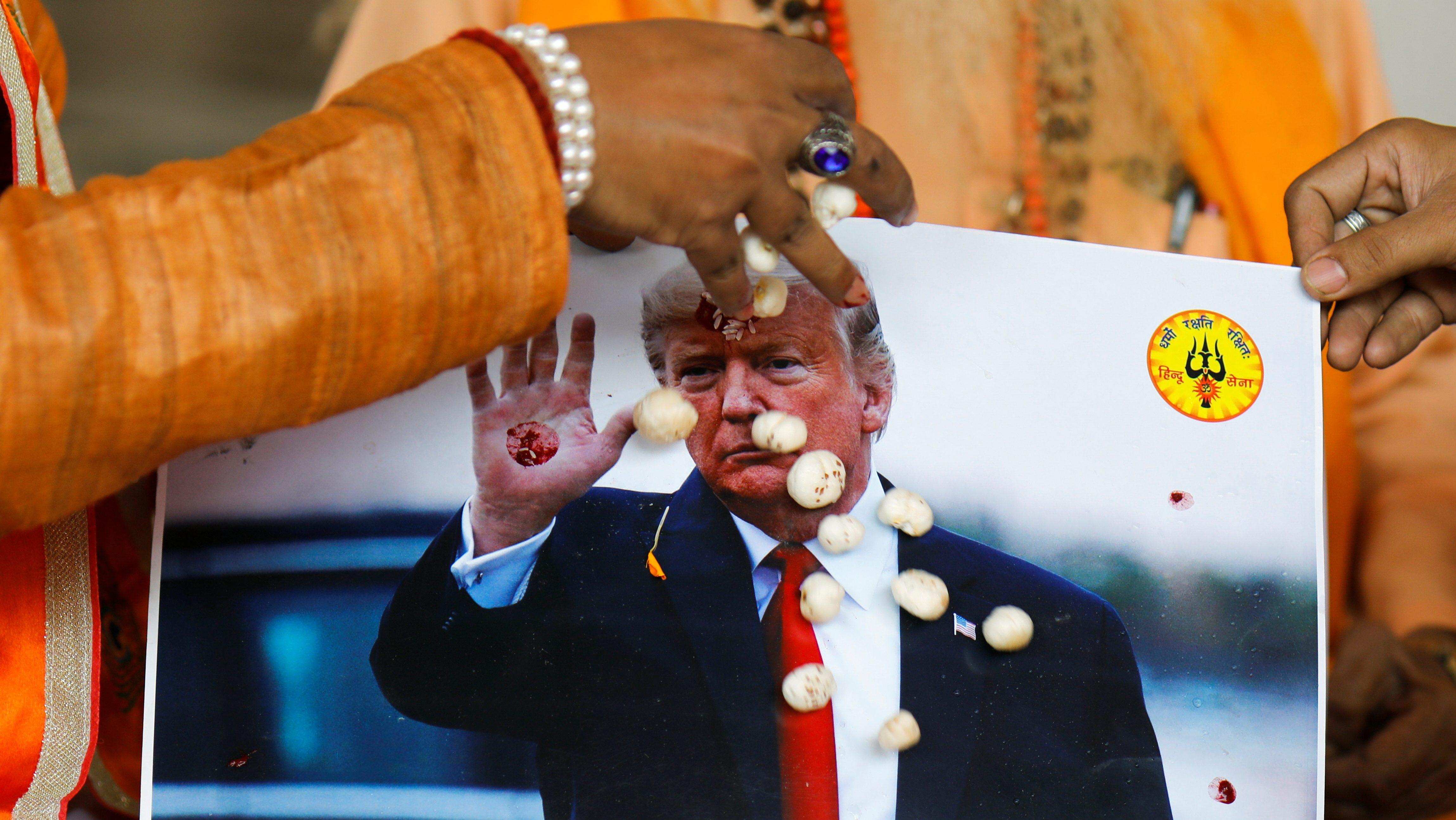 India-Donald-Trump
