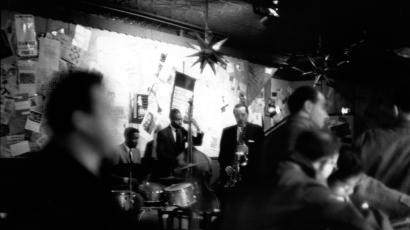 Jazz musician Lester Young performs at the 5 Spot Cafe in circa 1958 in New York City, NY