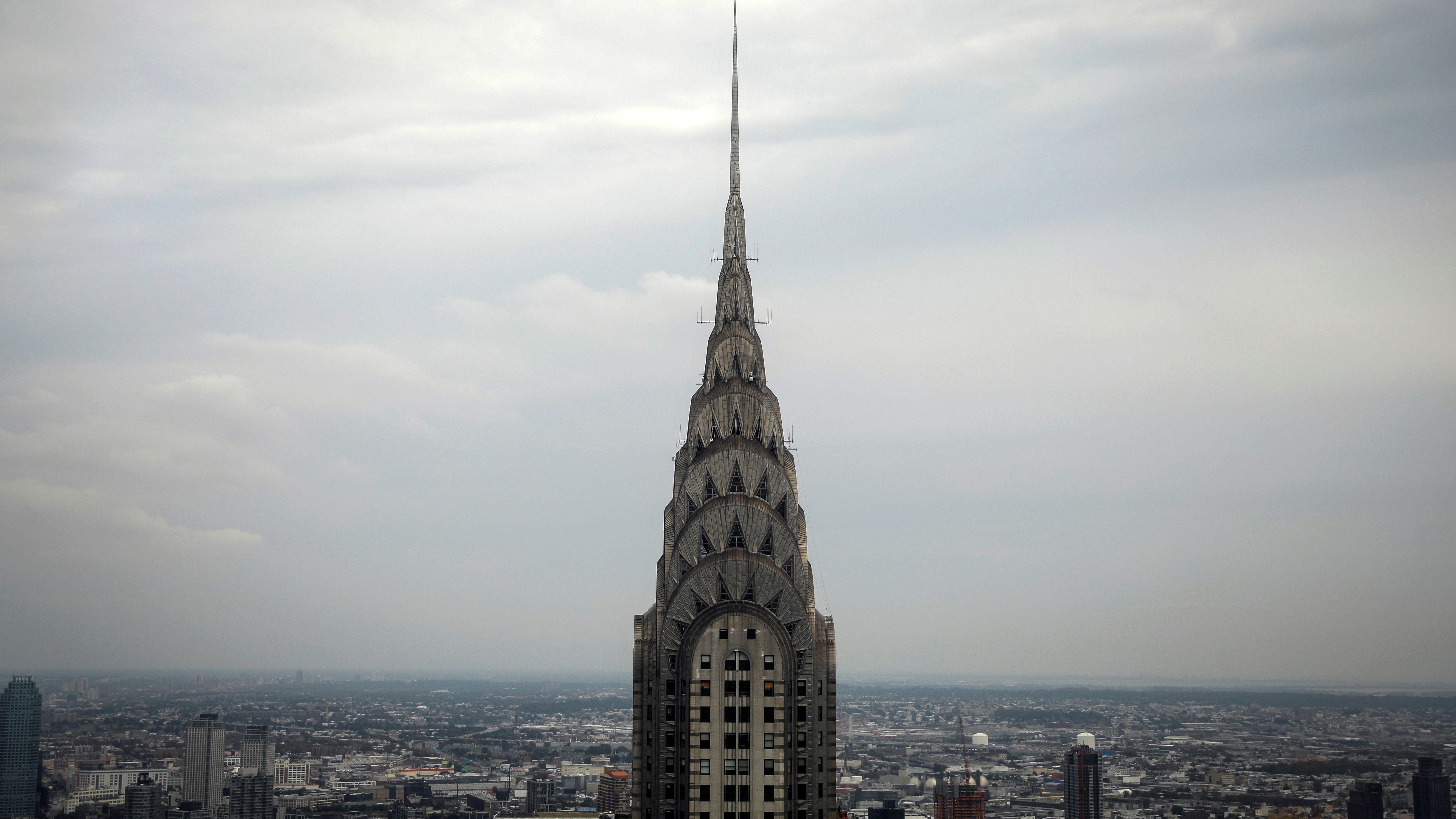 The Vanderbilt building in New York City.