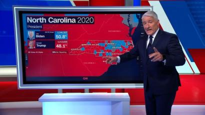 cnn john king at the magic wall during the 2020 us presidential election