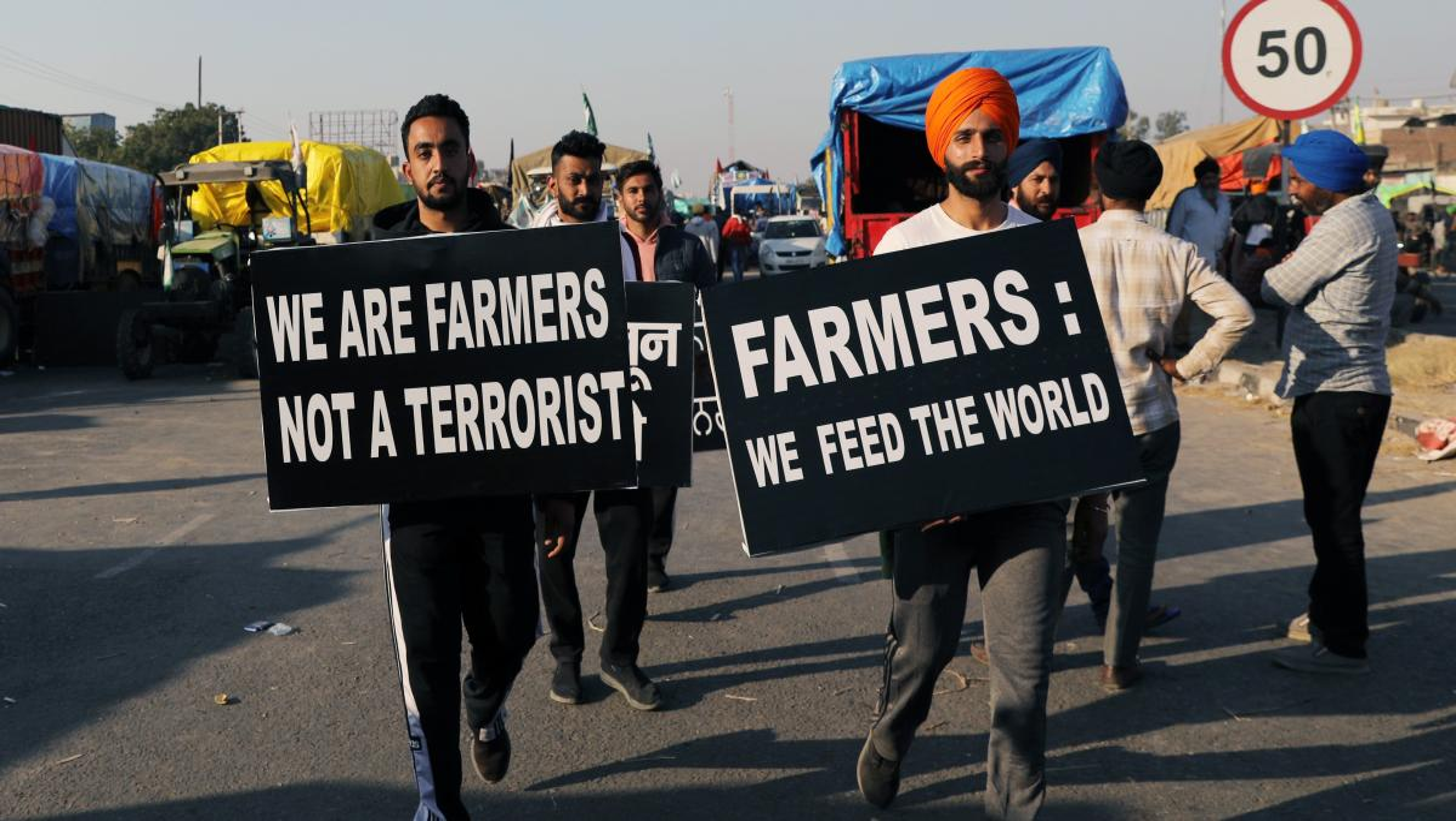 India's farmers join a new era of inventive, inclusive protest — Quartz India