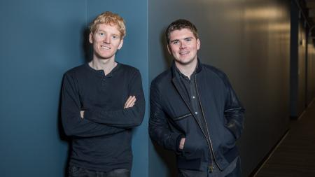 Stripe founders (and brothers) Patrick and John Collison