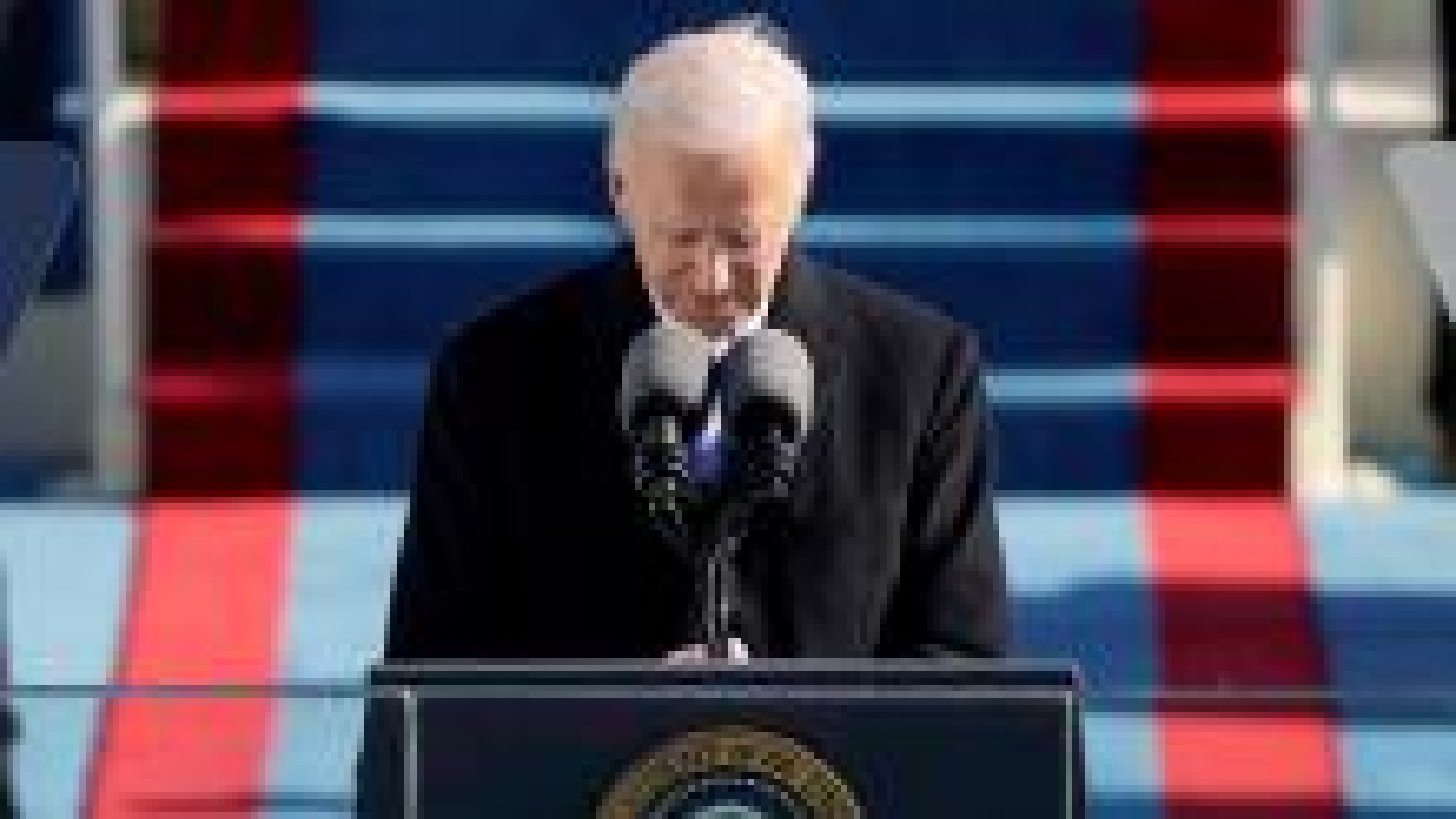 Joe Biden gives his inauguration day speech