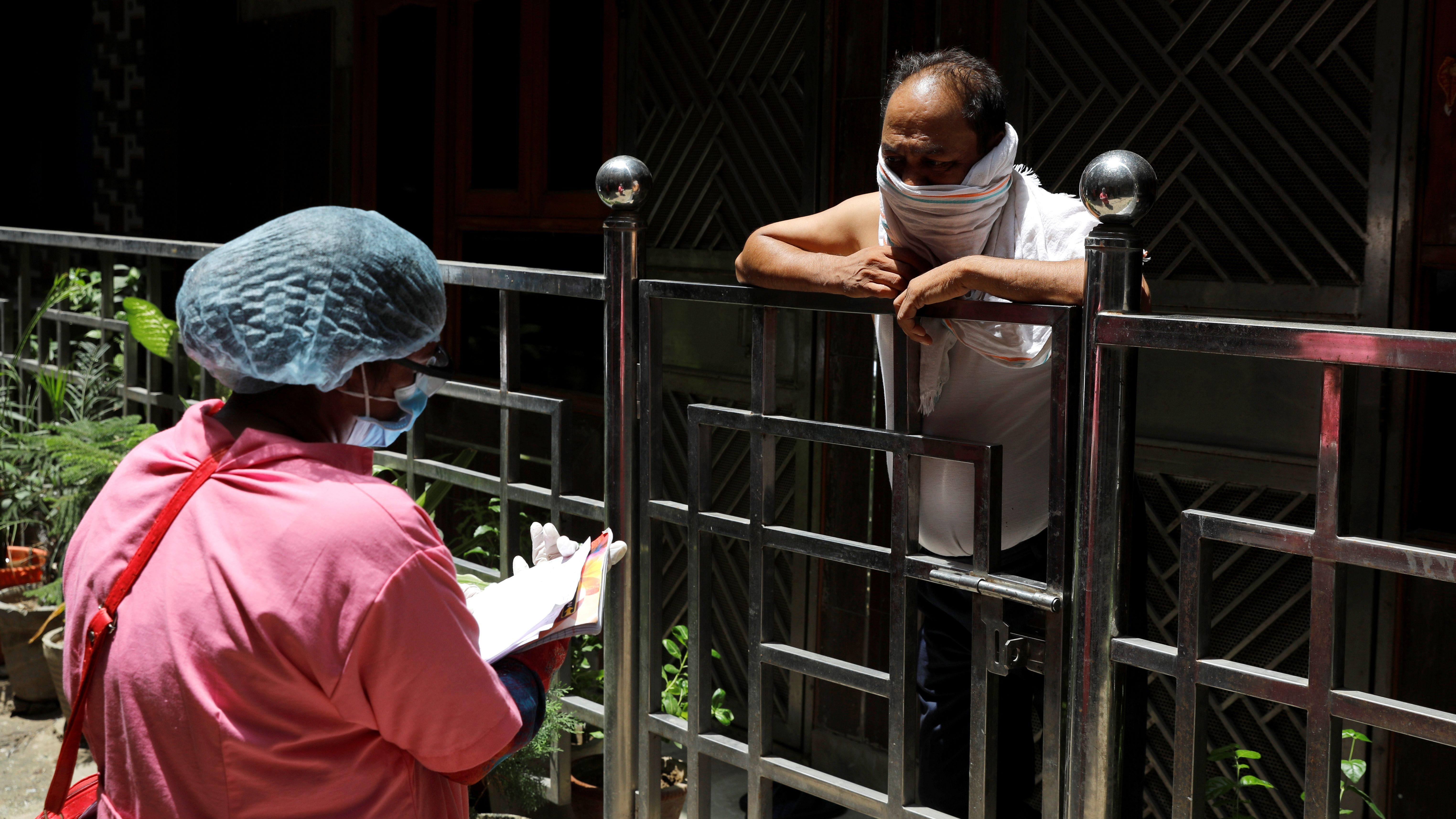 Outbreak of the coronavirus disease (COVID-19) in New Delhi
