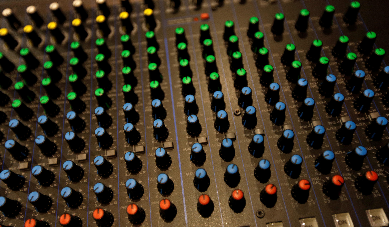 A sound board